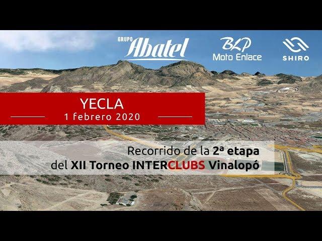 Yecla. Segunda etapa Interclubs Vinalopó 2020