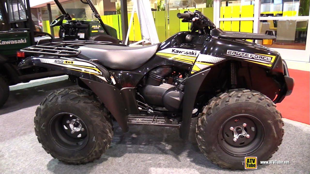 2015 Kawasaki Brute Force 650 Utility ATV - Walkaround - 2015 Salon
