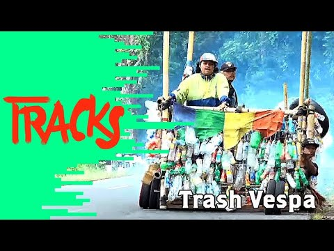 Trash Vespa : Vagabonds en Vespa à Java    |    TRACKS - ARTE