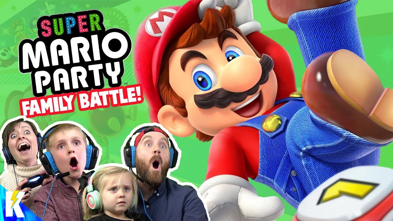 SUPER MARIO PARTY Family Battle! (K-City GAMING REMATCH!)
