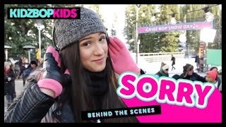 KIDZ BOP Kids – Sorry (Behind The Scenes) [KIDZ BOP 31]
