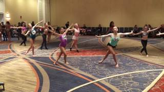Angel Armas choreography at Liberate the Artist Convention Haley Huelsman (Mint Leo)