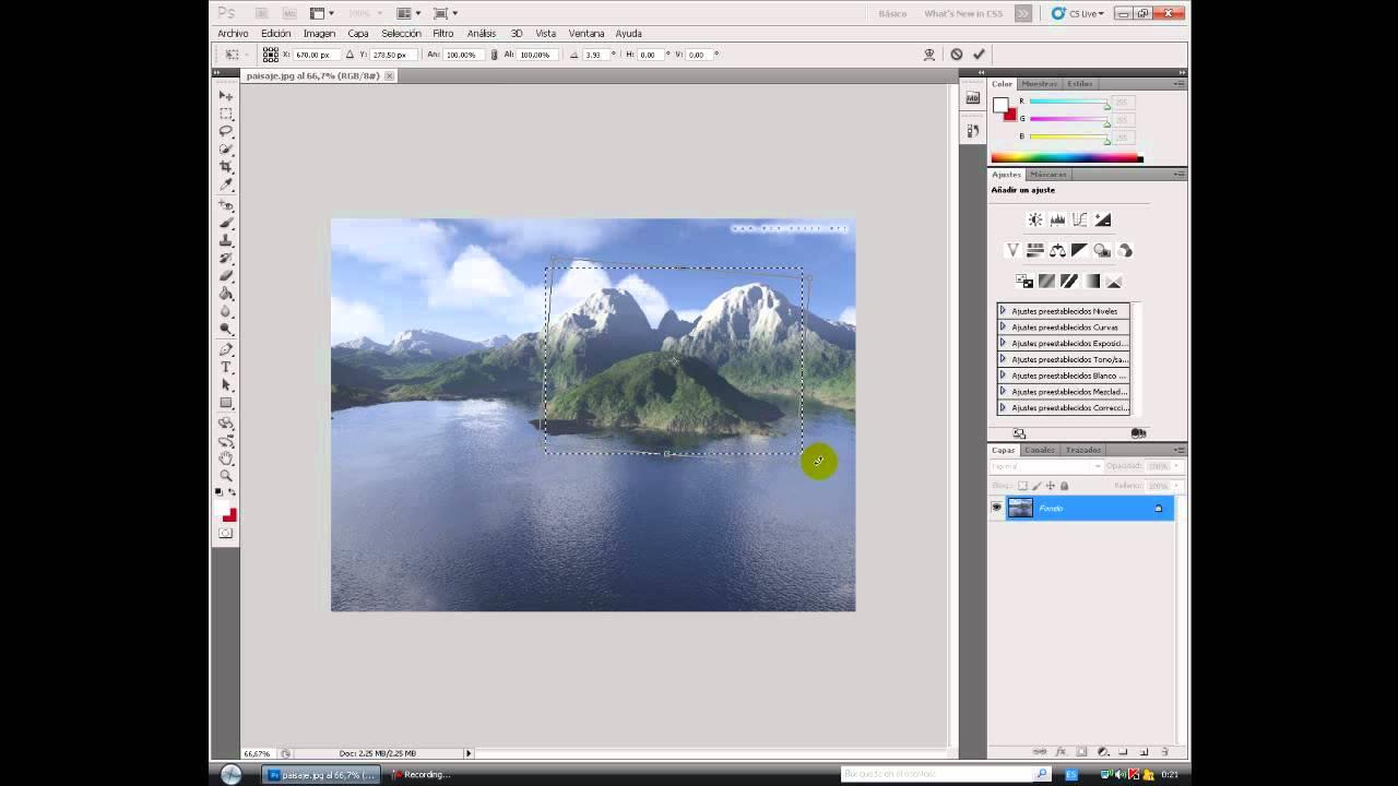 Como poner marcos a mis fotos en photoshop 22