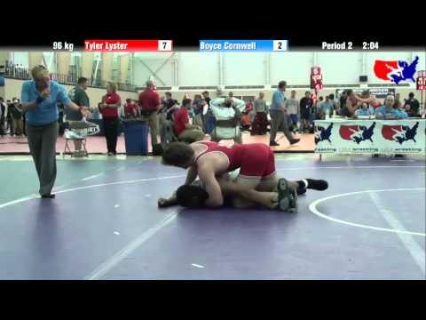Tyler Lyster vs. Boyce Cornwell at 2013 ASICS University Nationals - FS