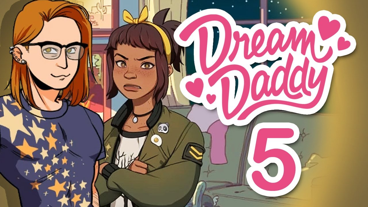 Amanda Dream Daddy dream daddy - barbecue party & amanda is so grounded ~part 5~ (dad dating  simulator indie game)