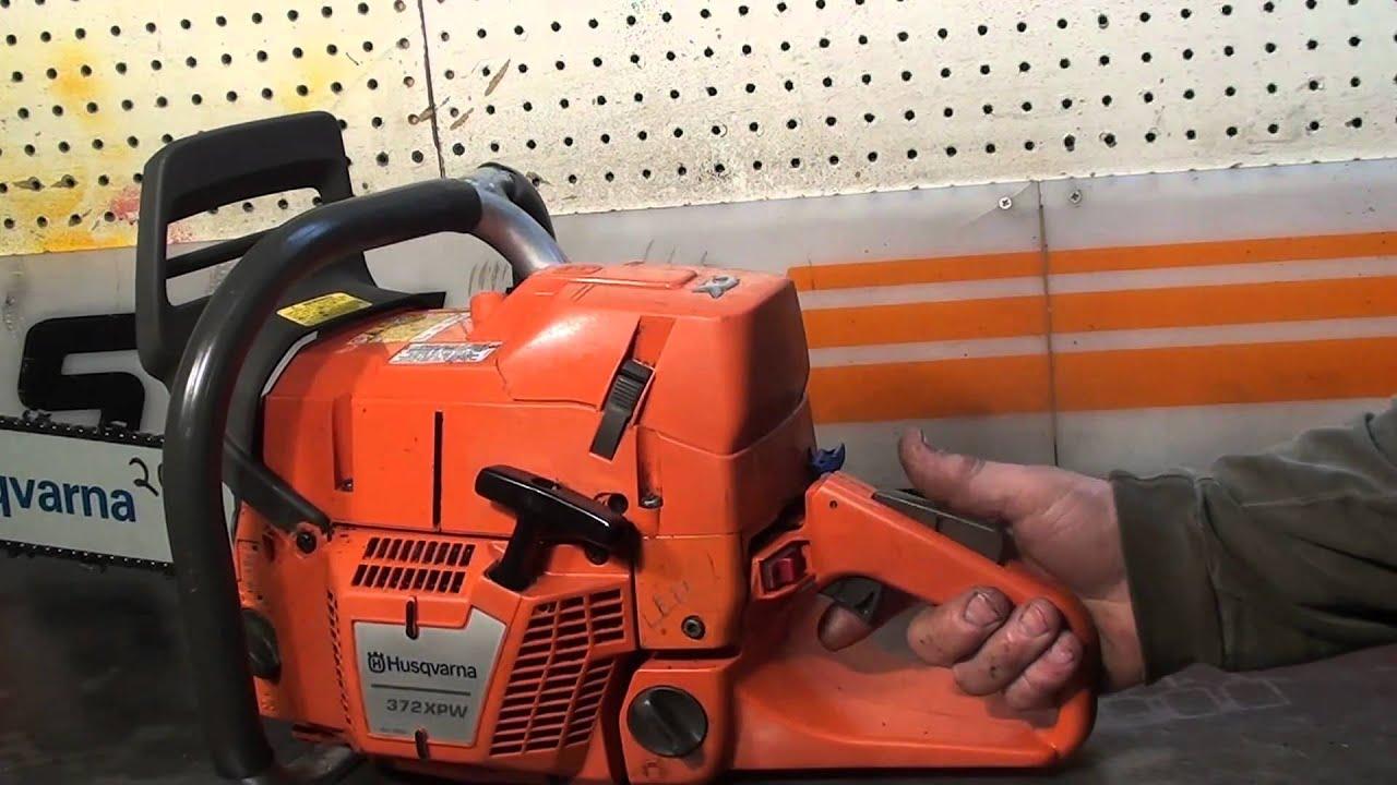 The Chainsaw Guy Shop Talk Husqvarna 372 Xp X Torq