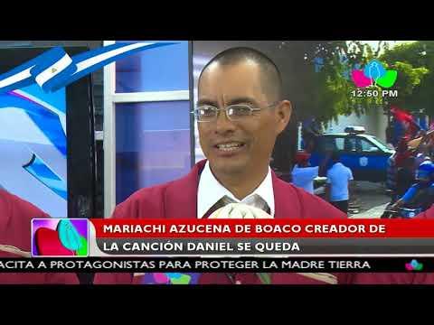 Mariachi Azucena de Boaco creador de la canción Daniel se queda