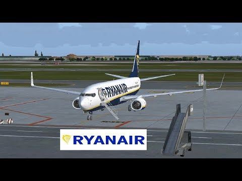 [FSX SE] LiveStream | VRyanair PMDG 737 NGX | Bologna-Prague-Birmingham-Dublin & more