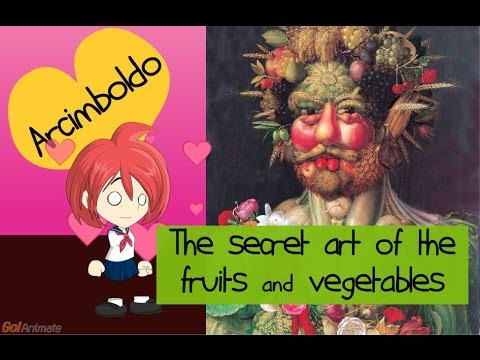 The secret art of the fruits and vegetables by Arcimboldo