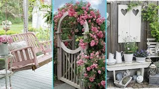 � DIY Shabby Chic Garden decor Ideas 2017 �| Home decor & Interior design| Flamingo mango|