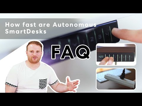 How fast are Autonomous SmartDesks   Autonomous FAQ