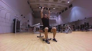 Упражнения для триатлона в тренажерном зале