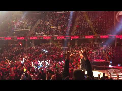 Luke Gallows & Karl Anderson Entrance In Cleveland