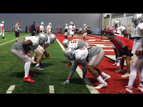 Ohio State defense in sixth 2018 spring practice