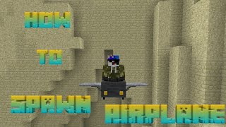 ✓Minecraft PE: How to spawn airplane in Minecraft pocket edition