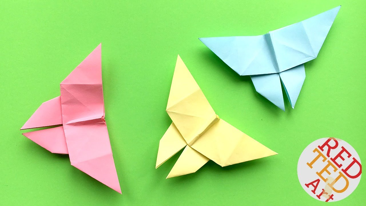 Easy Origami Butterfly 2