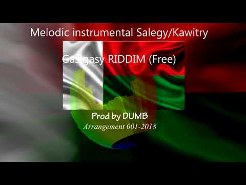 Melodic instrumental Salegy Kawitry - Prod By Dumb