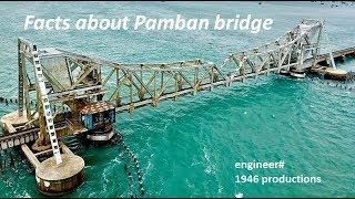 Pamban Bridge - 13 Important facts, 1964 Cyclone and Recovery
