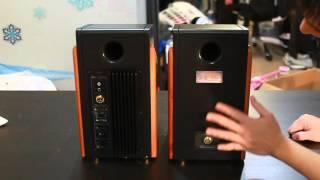 Unboxing & Overview of the Swan HiVi M200MKIII Powered Deskstop PC Speakers
