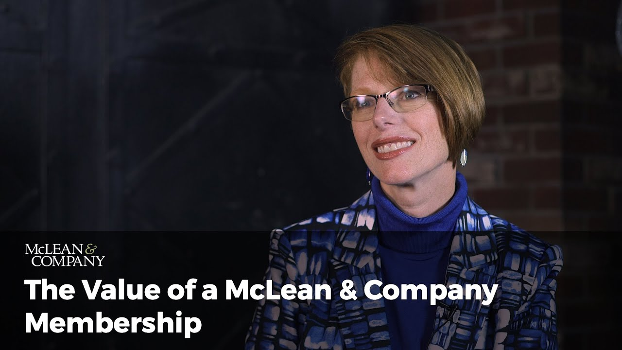 Value of a McLean & Company Membership