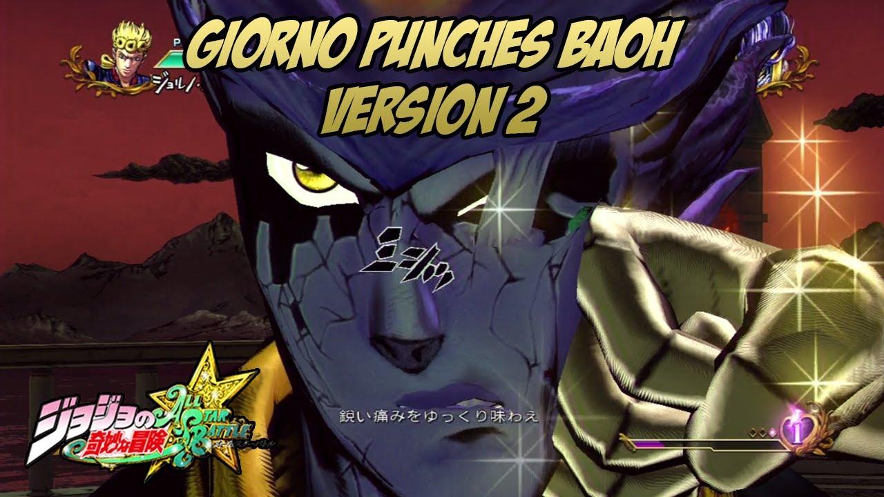 JoJo's Bizarre Adventure: All Star Battle - Giorno's Gold