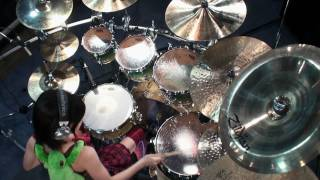 【K-ON!!】 けいおん!! ED - Listen!! - 叩いてみた drum cover Senri Kawaguchi