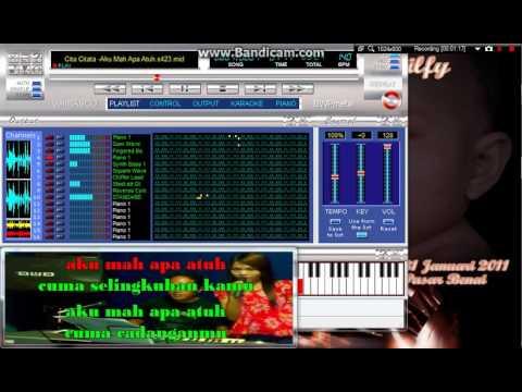 AKU MAH APA ATU - MIDI SF2 - KARAOKE SAMPLING