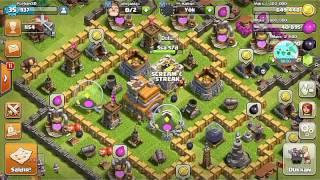 Clash of Clans 8. Seviye kışla en iyi saldırı!!!