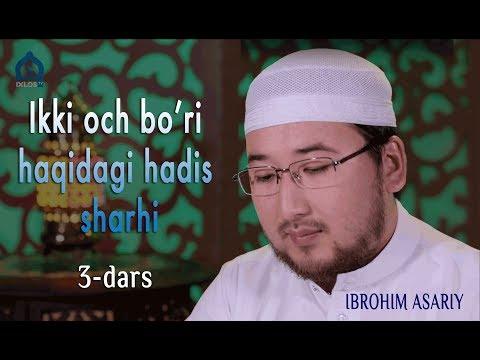 3-dars: Ikki och bo'ri haqidagi hadis sharhi (Ibrohim Asariy)