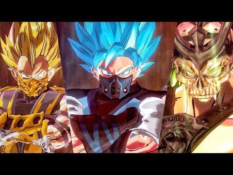 MORTAL KOMBAT COSTUMES PACK!? Dragon Ball Xenoverse 2 MODS