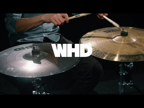 """WHD 18"""" Quiet Practice Crash Ride Cymbal 