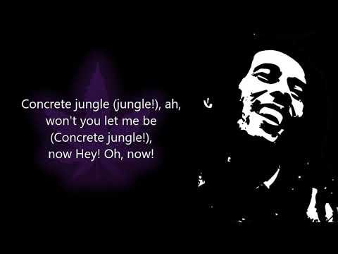 Concrete Jungle Bob Marley (With Lyrics)