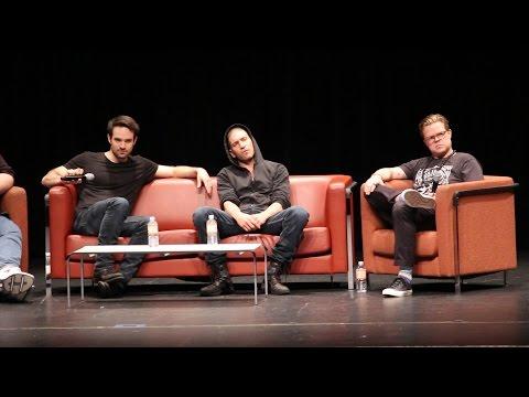 Daredevil Panel  Charlie Cox, Jon Berthal and Elden Henson