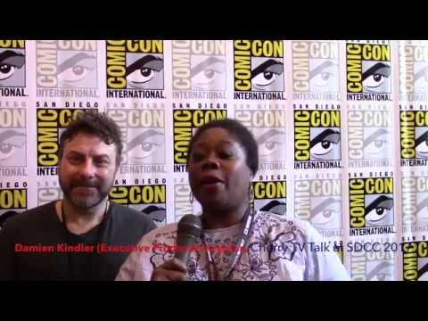 Damian Kindler (Executive Producer) Krypton TV Talk at SDCC 2017