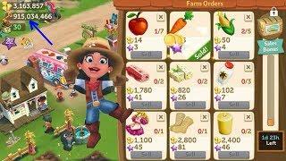 FarmVille 2 LEVEL 22-23 Gameplay Hack Unlimited Money Keys HD