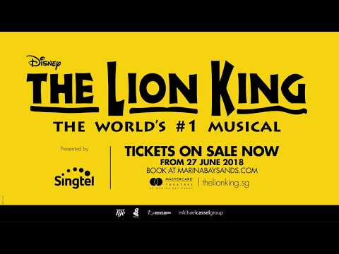 THE LION KING - Coming to Singapore in 2018!