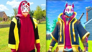 DRIFT from FORTNITE IN REAL LIFE!!