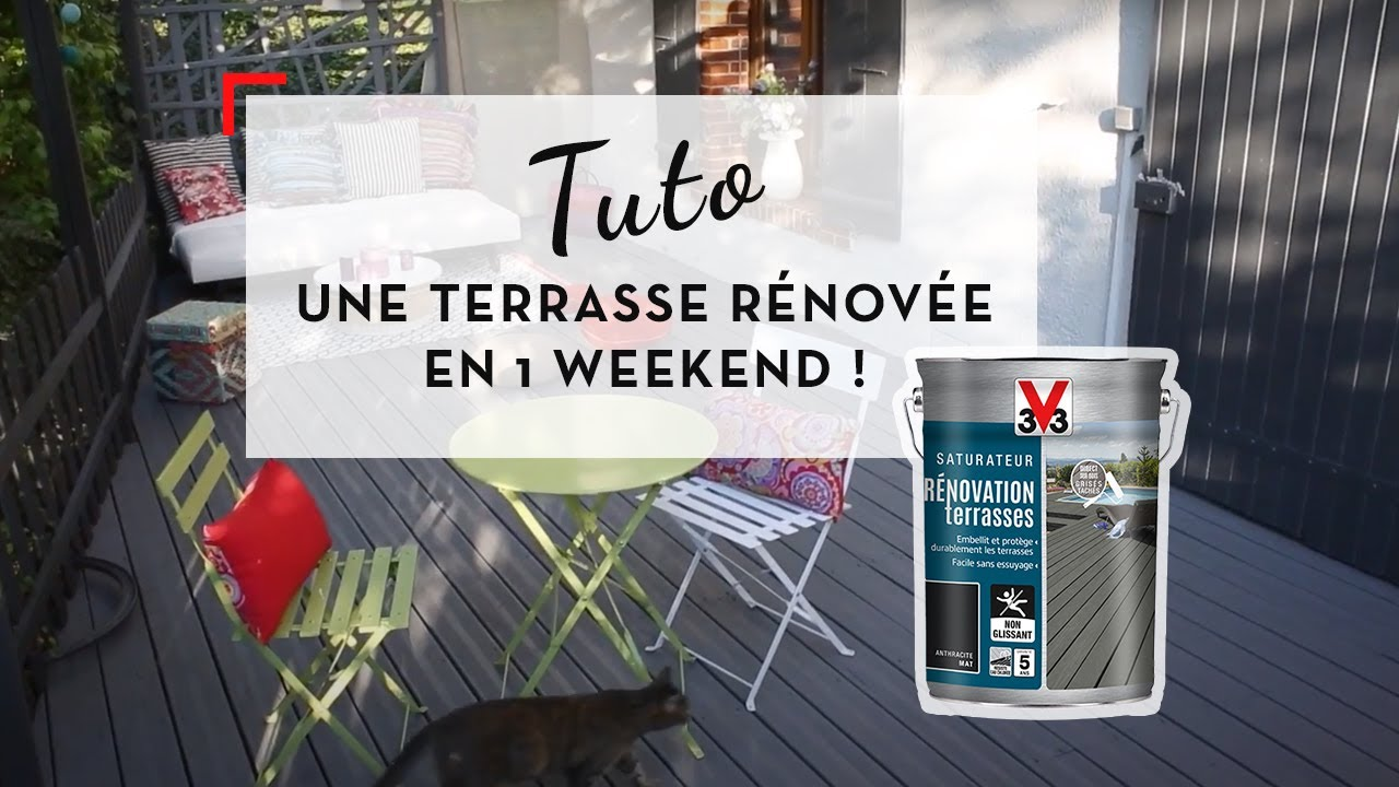 Saturateur Renovation Terrasses Youtube