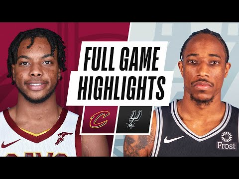 CAVALIERS at SPURS | FULL GAME HIGHLIGHTS | April 5, 2021