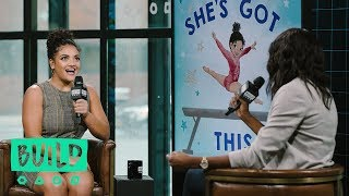 """Laurie Hernandez Talks Her Children's Book, """"She's Got This"""""""