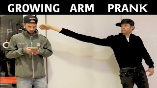 Growing Arm Magic Prank -Julien Magic