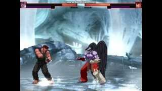 Mugen Devil Jin Vs Evil Ryu