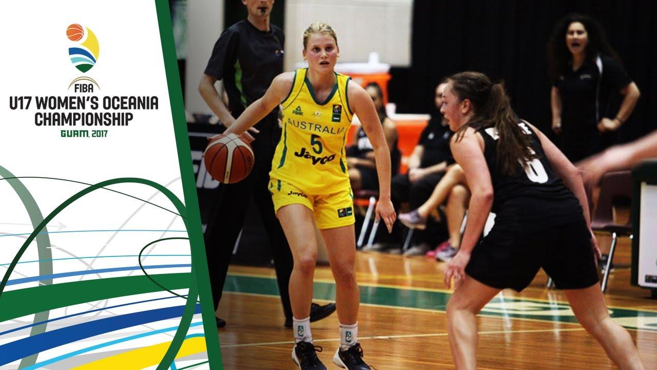 Australia v New Zealand - Full Game - Final