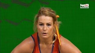 2018 World Weightlifting Championships. women 81kg \ Чемпионат мира женщины до 81кг