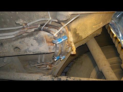 Замена топливных трубок (топливных магистралей) на Шевроле Нива старого образца