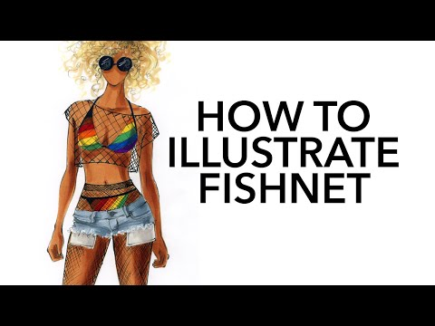 How To Illustrate Fishnet