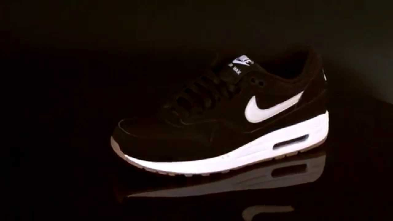 0cf819263d official nike air max 1 essential sneaker black light bone gum 537383  youtube 370ad 67881