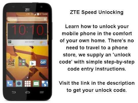 zte speed unlock solution: for-profit