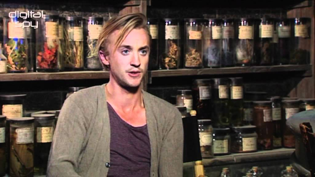 Tom Felton On Hair Dye And Missing The Harry Potter
