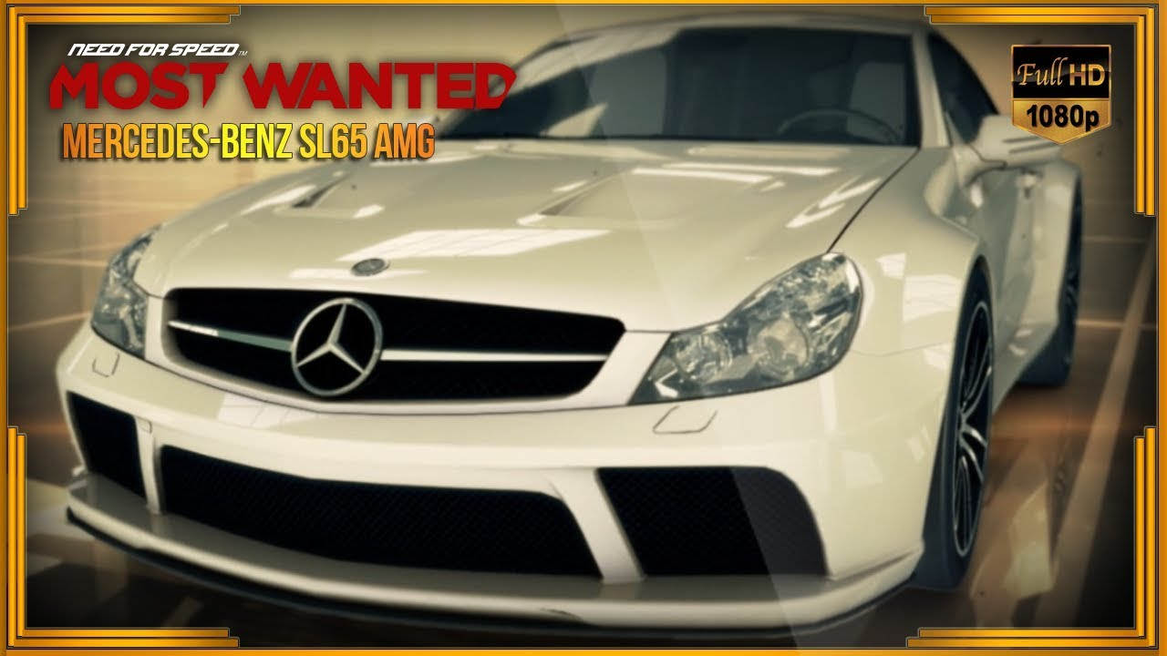 NEED FOR SPEED: MOST WANTED 2012 - MERCEDES-BENZ SL65 AMG
